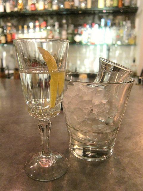 Martini At Hix (By Laissez Fare)